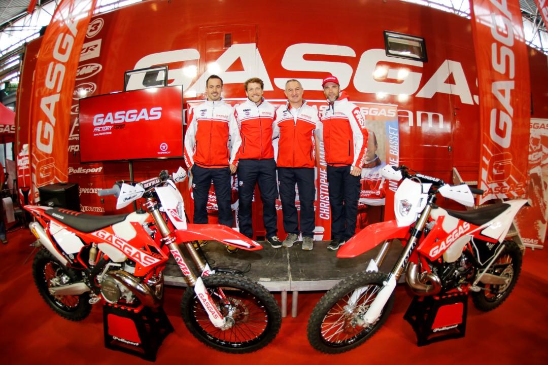 Gas Gas presenta a su equipo para el Mundial de Enduro