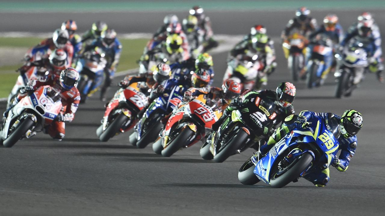 Suzuki, el ascensor de MotoGP y Fray Luis de León