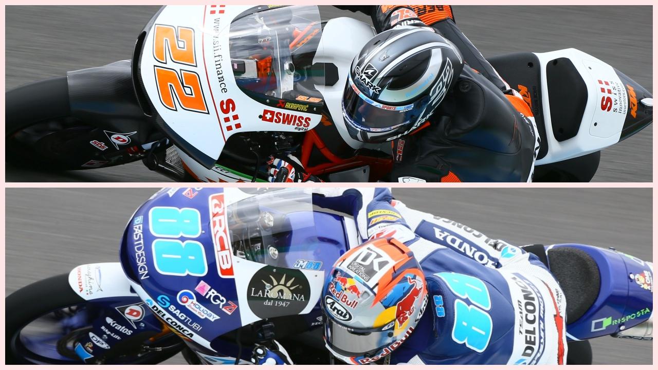Sam Lowes y Jorge Martín suben el nivel en los test de Jerez de Moto2 y Moto3