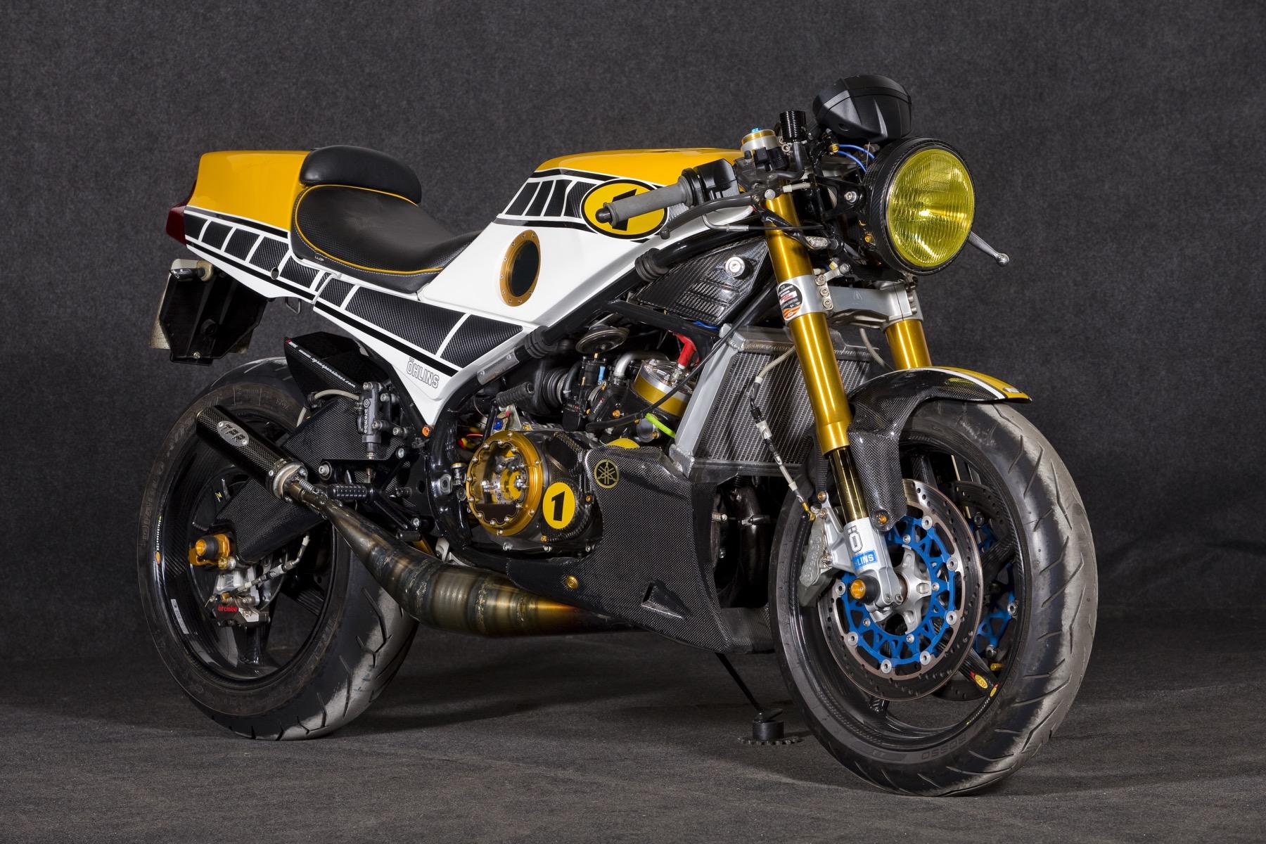 """Yamaha RD350lc Endurance """"Crazy Carbon"""", la RD 350 llevada a su máxima expresión"""