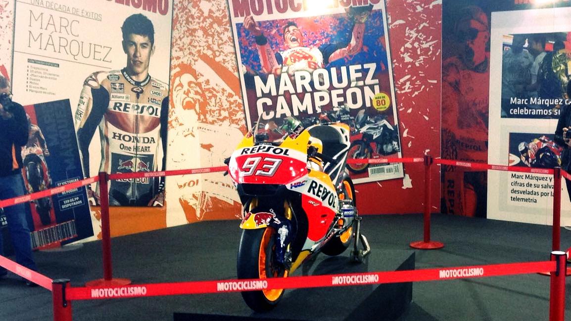 Te esperamos en MotoMadrid... ¡Y la moto de Márquez también!