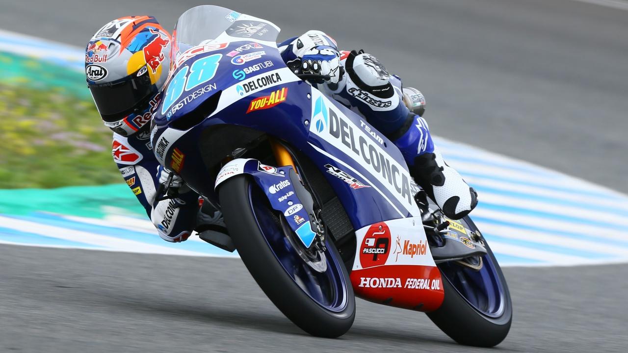 Moto3: Jorge Martín lidera el trío Honda de favoritos al título en Jerez