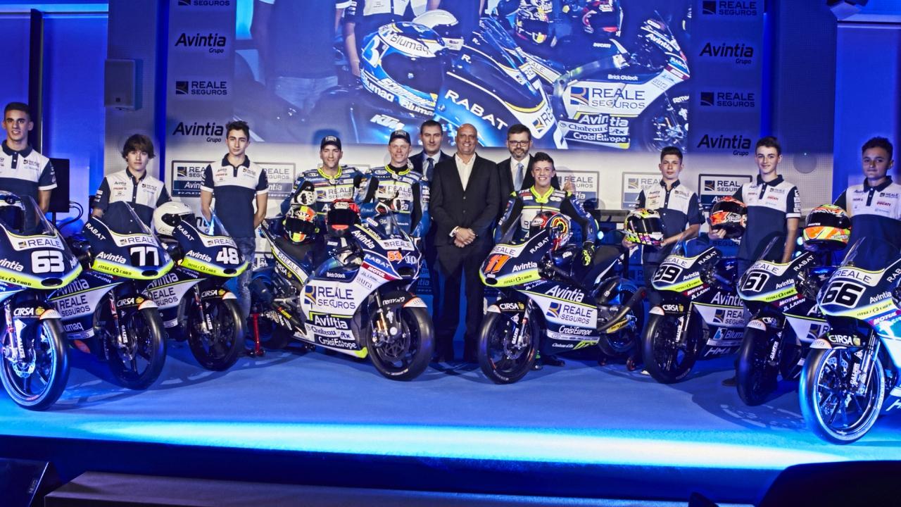 El Reale Avintia presenta su proyecto 2018, encabezado por la Ducati de MotoGP