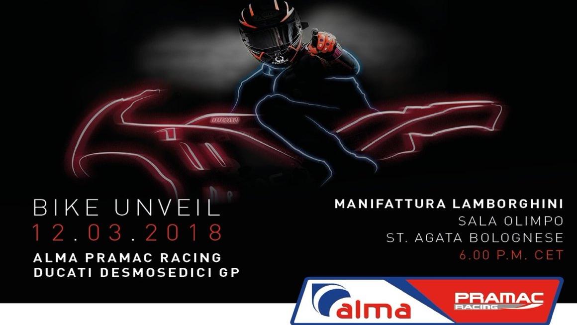 Vuelve a ver la presentación de las Ducati del Alma Pramac Racing para MotoGP 2018