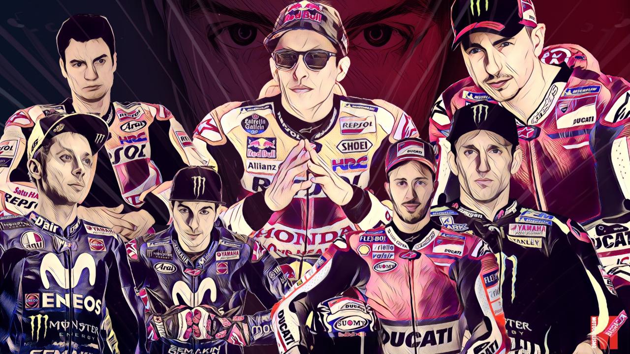 Las 7 bellas artes de MotoGP 2018