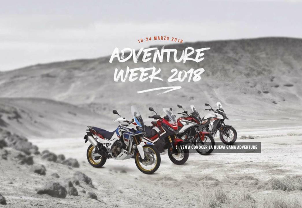 ¡Disfruta de la Adventure Week de Honda!