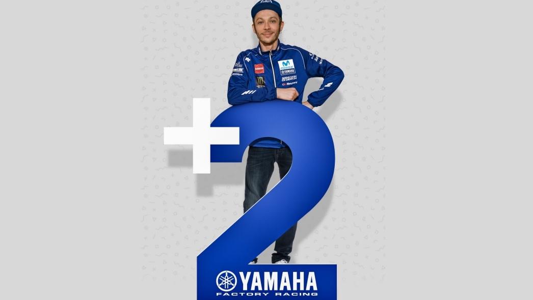 Valentino Rossi renueva con Yamaha y seguirá hasta MotoGP 2020