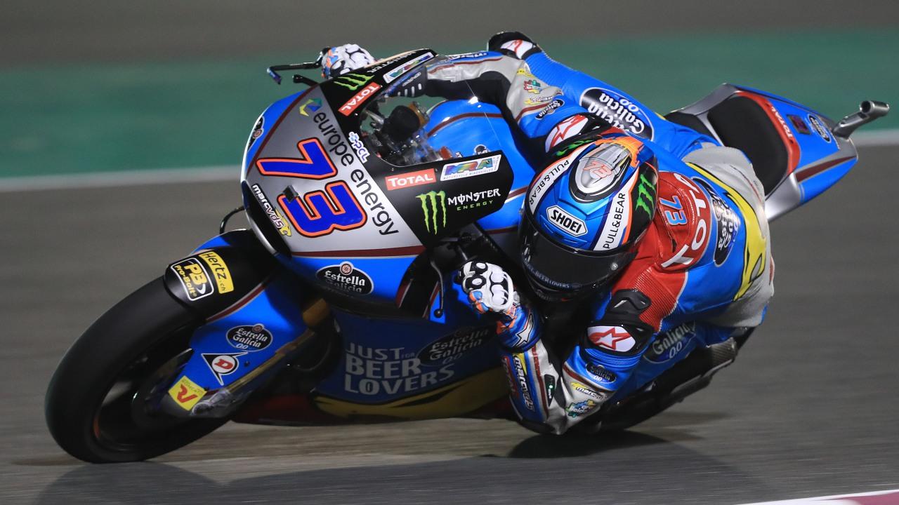 Álex Márquez comienza 2018 en lo más alto de Moto2 en Qatar