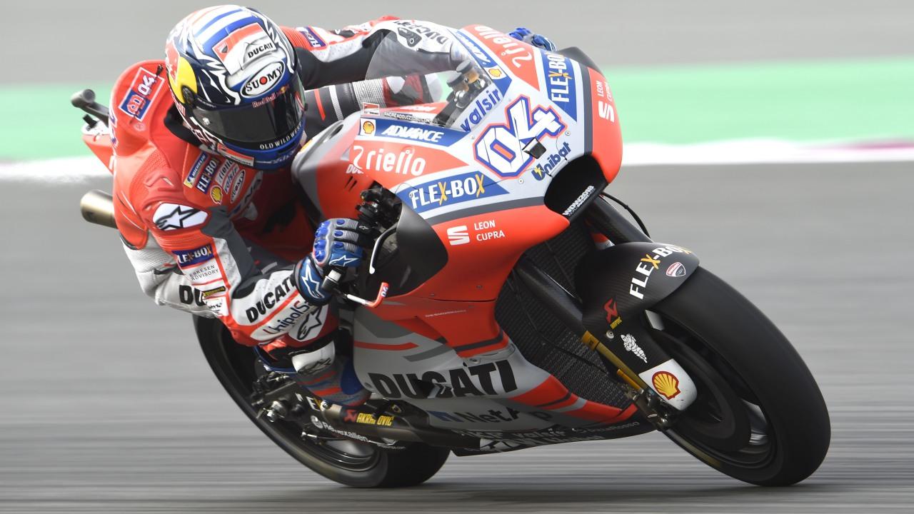 Andrea Dovizioso y Ducati arrancan MotoGP 2018 metiendo miedo en Qatar