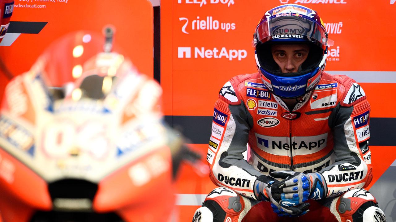 """Andrea Dovizioso: """"He cometido un error en la Q2"""""""