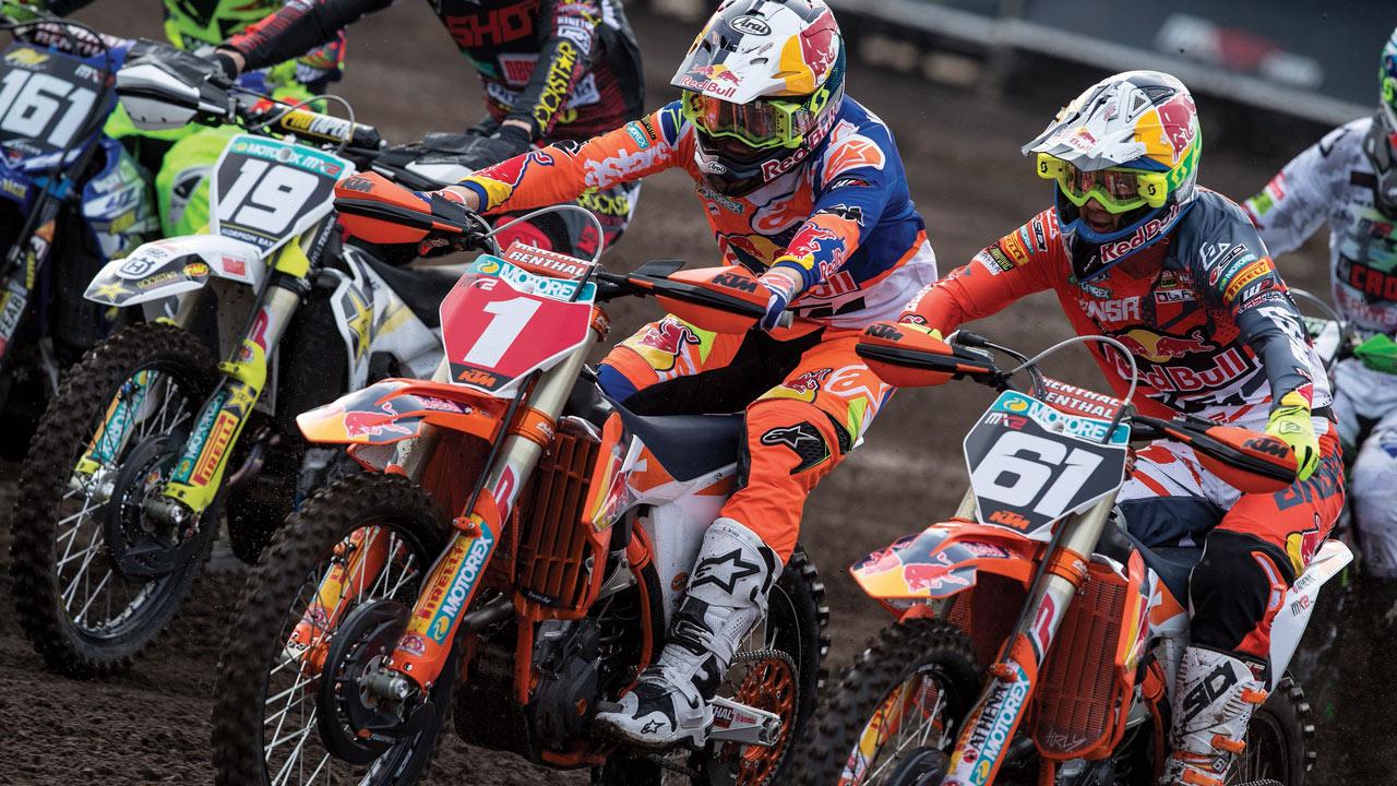 MX2 Valkenswaard 2018: Pauls Jonass y Jorge Prado luchan hasta la línea de meta
