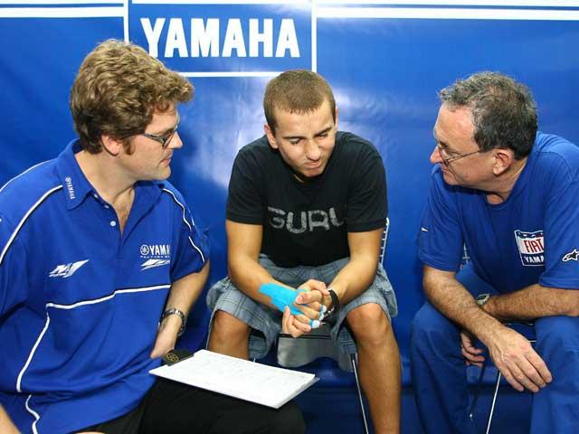 """Lorenzo: """"Mañana probaré algunos cambios en mi pilotaje"""""""