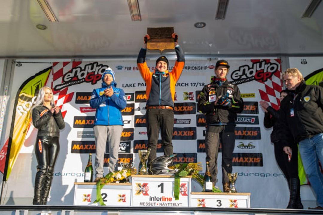 Aleksi Jukola primer líder del Mundial de EnduroGP tras la primera prueba en Finlandia
