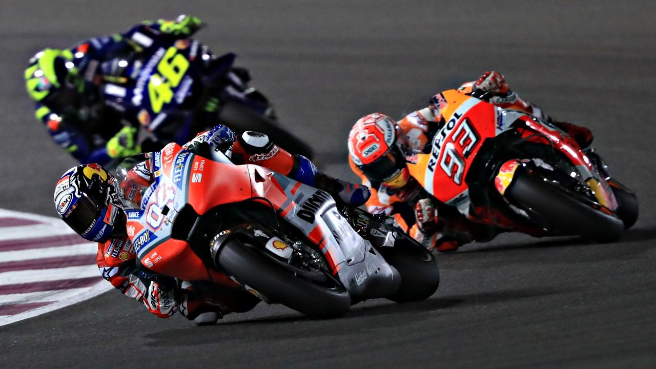 Italia-España, competencia imperfecta en MotoGP
