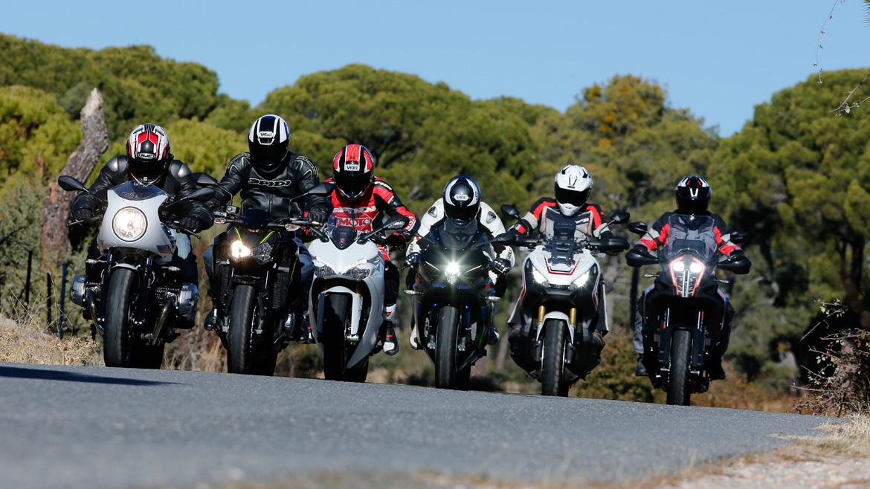 Prueba las motos 2018 en el Salón Vive la Moto