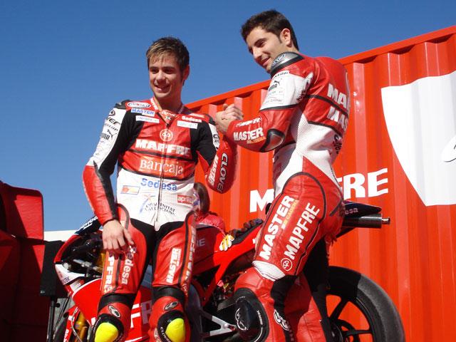 Mapfre y Aspar buscan el título de 250 cc