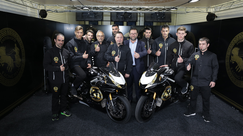 Presentación del Emperador Racing Team