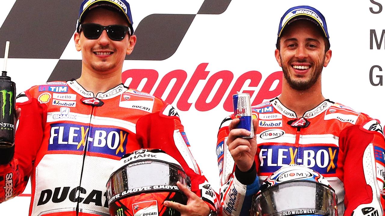 Andrea Dovizioso y Jorge Lorenzo, la mejor pareja que puede tener Ducati en MotoGP