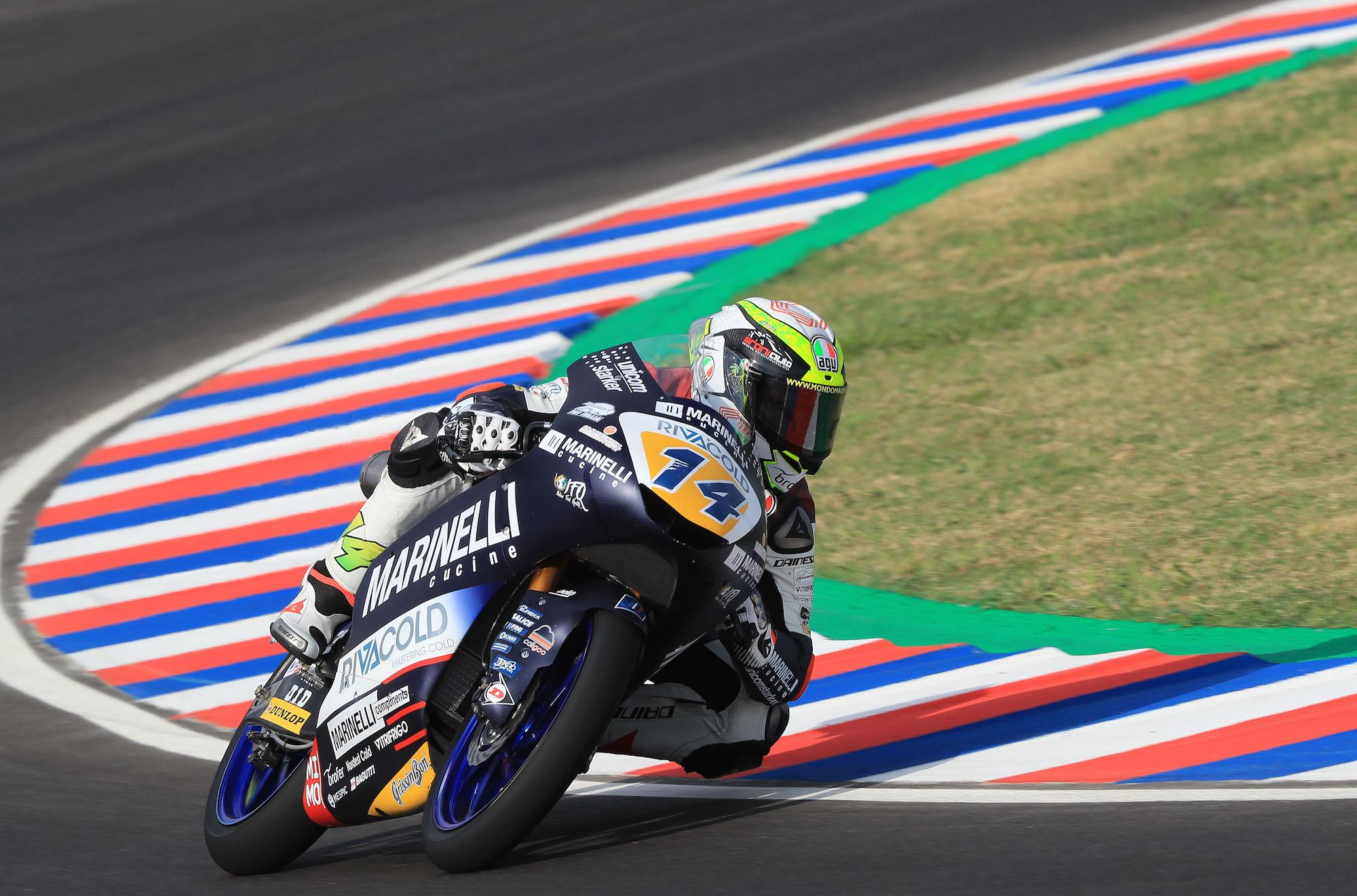 Tony Arbolino logra la pole position en Argentina