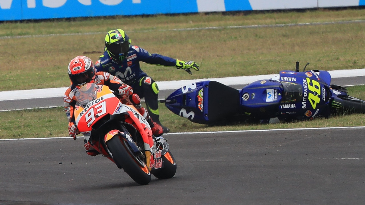 """Valentino Rossi: """"Tengo miedo de Marc Márquez, ha destrozado nuestro deporte"""""""