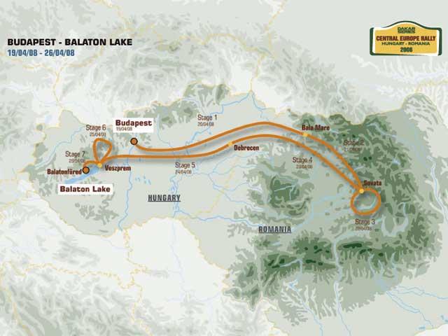 Presentadas las etapas de las Dakar Series