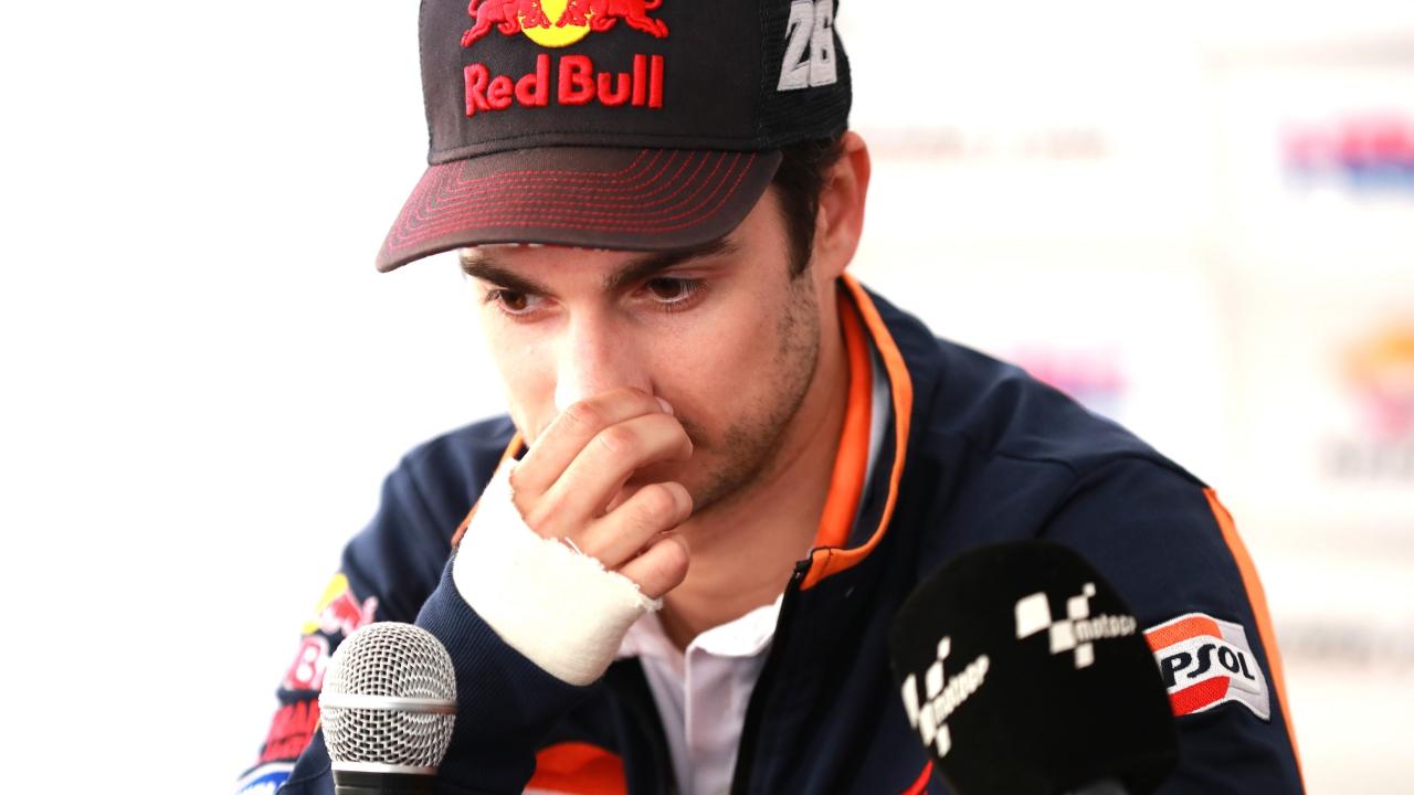 """Dani Pedrosa: """"No he disfrutado mucho la carrera, al final ya no podía con la moto"""""""
