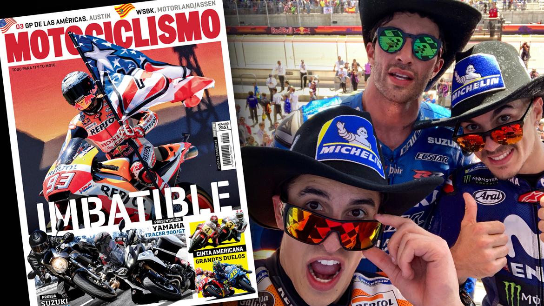 Marc Márquez, el hombre imbatible en Austin, en la portada de Motociclismo