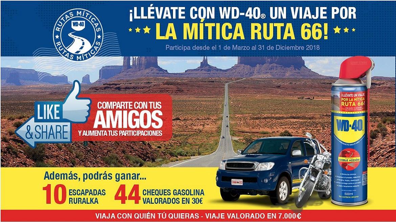 Rutas Míticas 2018: Viaja a la Ruta 66 con WD-40