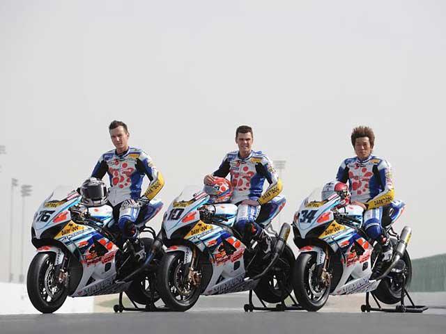El Team Alstare Suzuki, preparado para el Mundial SBK 2008