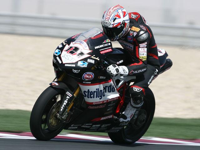 Xaus con Ducati saldrá desde la segunda posición