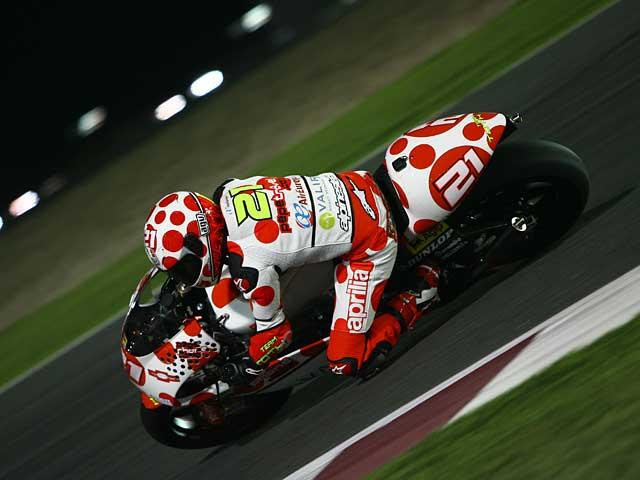 Di Meglio (Derbi) y Barberá (Aprilia) los primeros en la última jornada de Qatar