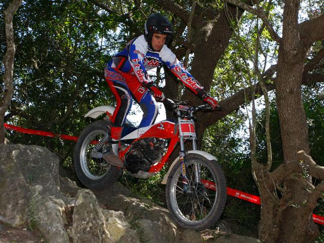 Alfredo Gómez con Honda se lleva la victoria en el Trial de Clásicas