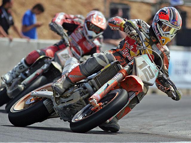 Gran Premio urbano de Supermotard en Valladolid