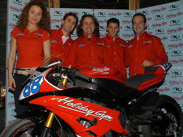 El Holiday Gym Racing Team en Superstock 600