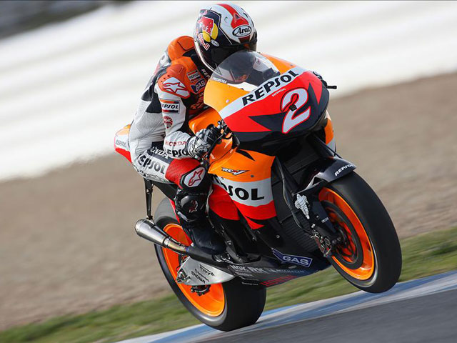 Dani Pedrosa (Honda) comenta el trazado de Jerez antes del Mundial de MotoGP