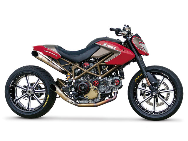 Ducati Hypermotard customizada