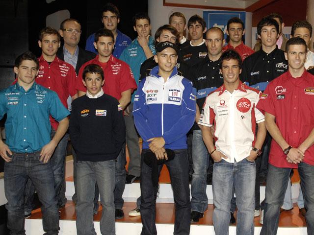 """""""A la afición española"""" antes del Gran Premio de Jerez"""