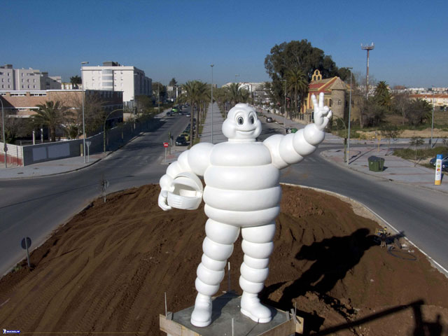 Bibendum da la bienvenida en Jerez