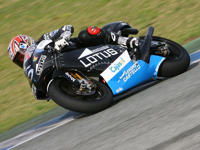 Alex Debón el más rápido de 250cc en los primeros libres de Jerez
