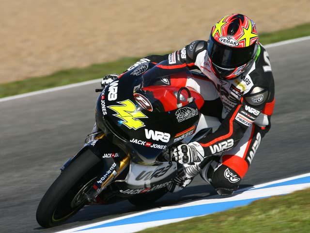 Victoria de Corsi (Aprilia). Terol, segundo en el Gran Premio de Jerez