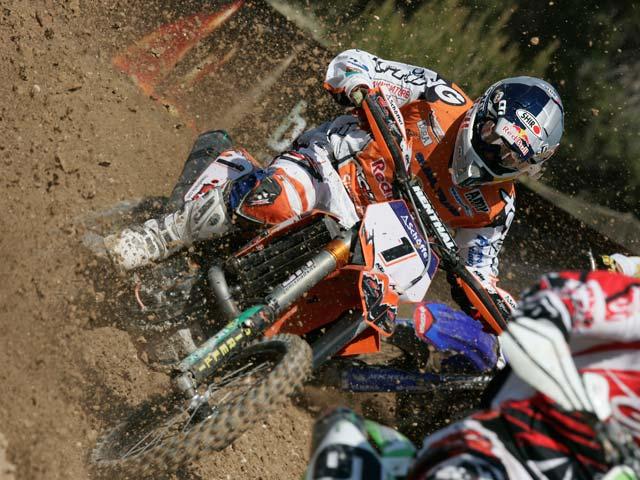 Barragán con KTM se lo lleva todo en el Motocross de Albaida