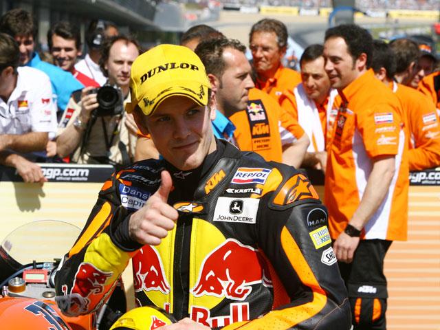 """Mika Kallio (KTM): """"Estoy contento aunque la victoria haya sido por suerte"""""""