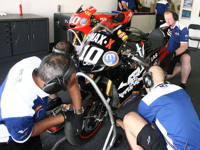 El Team Roberts no tira la toalla en MotoGP