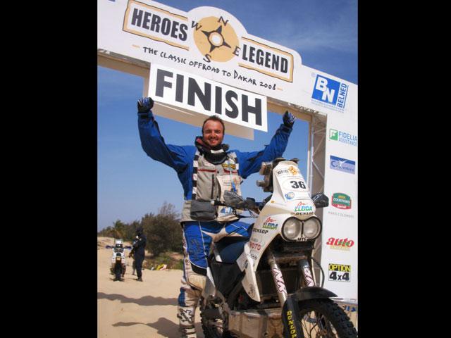 Soler, ganador del rally Heroes Legend 2008