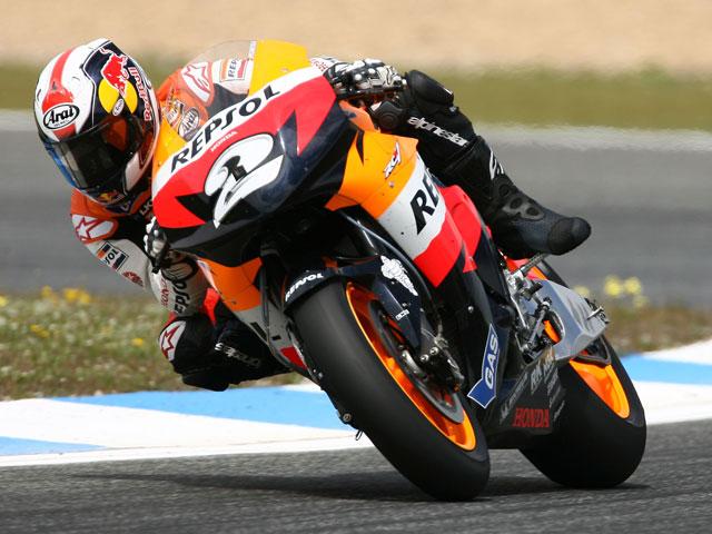 Pedrosa (Honda), el más rápido en Estoril... sin Lorenzo