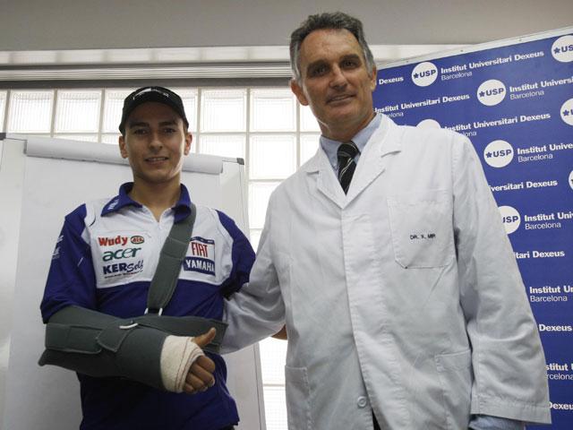 """Lorenzo (Yamaha): """"Correré incluso aunque sea con una mano"""""""