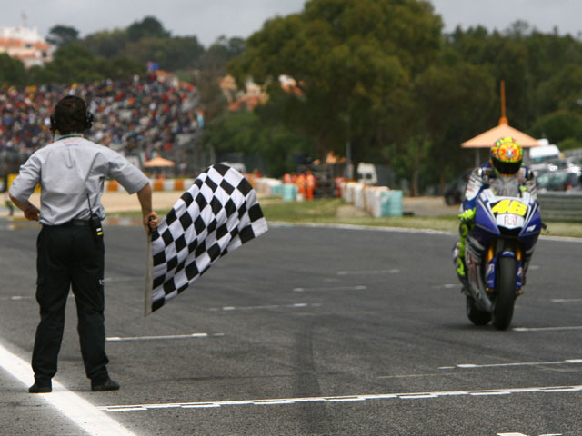 Valentino Rossi, en el punto de mira