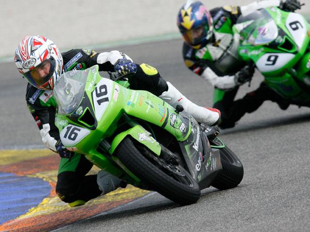 Victoria de Víctor Lozano en la Kawasaki Ninja Cup