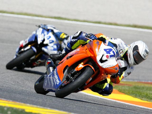 Angel Rodríguez (Yamaha) se lleva una accidentada victoria