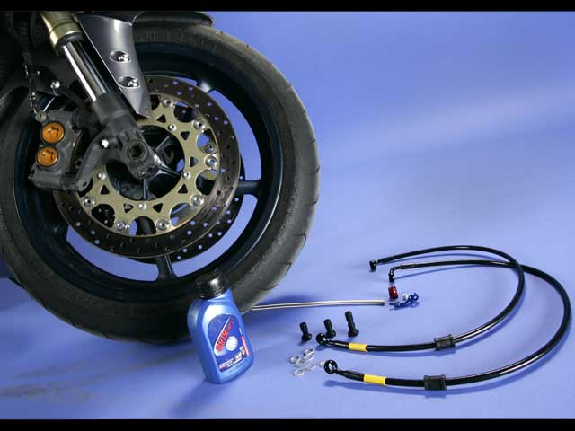 Mantenimiento moto: Latiguillos de freno
